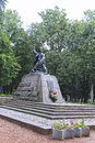 Monument to the pioneer hero of the soviet union marat kazei in minsk Stock Photos