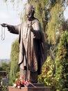 Monument to Pope John Paul II Karol Wojtyla Royalty Free Stock Photo