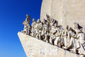 Monument to the Portuguese Sea Discoveries, Lisbon Royalty Free Stock Photography