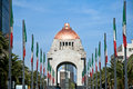 Monument to revolution in the republic square mexico dc Royalty Free Stock Photos