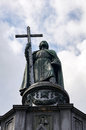 Monument to Saint Vladimir. Kiev. Royalty Free Stock Photo