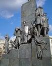 Monument to Taras Shevchenko Stock Image