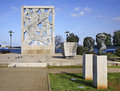 Monument to the victims of fascist terror in rovinj istria croatia Royalty Free Stock Photography