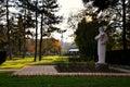 Monument to Vuk Stefanovic Karadzic Royalty Free Stock Photo
