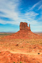 Monument Valley, Arizona, Vertical Royalty Free Stock Photo