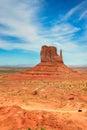 Monument Valley, Arizona, Vertical Royalty Free Stock Photo
