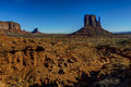 Monument valley navajo nation az Royalty Free Stock Image