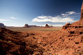 Monument valley navajo park tribal usa Royalty Free Stock Image