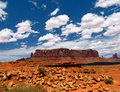 Monument Valley - Panorama Royalty Free Stock Photos
