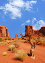 Monument Valley Rock Formations Royalty Free Stock Image