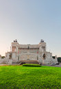 Monument of Victor Emmanuel II, Rome, Italy Royalty Free Stock Photo