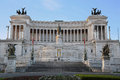The Monument of Victor Emmanuel II, Venezia Square,  in Rome, It Royalty Free Stock Photo