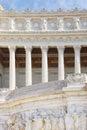 Monument Vittorio Emanuele II.Roma, Italia. Royalty Free Stock Images