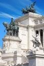 Monument Vittorio Emanuele II.Roma, Italia. Stock Photos