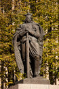 Monument of vytautas the great kaunas lithuania oct on october in kaunas was one most famous rulers medieval Royalty Free Stock Image