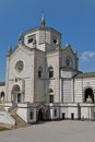Monumental cemetery in milan italy famedio chapel at the cimitero monumentale Royalty Free Stock Images