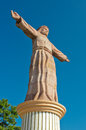Monumental Christ at Atachi Hills. Taxco, Mexico Royalty Free Stock Photo