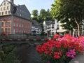 Monumental house das Rotes Haus Royalty Free Stock Photo