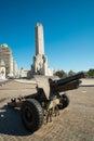 Monumento a la bandera Royalty Free Stock Photo