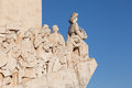 Monumento a los descubrimientos in lisbon portugal Royalty Free Stock Photos