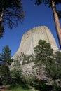 Monumento nacional da torre dos diabos Imagem de Stock
