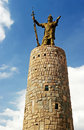 Monumento Pachacuteq – Cuzco, Peru Royalty Free Stock Photo