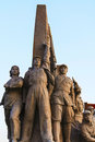 Monuments of communism communist statue china Royalty Free Stock Photos