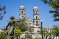 Monuments of Guadalajara, Royalty Free Stock Photo
