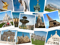 Monuments of Paris Royalty Free Stock Photo