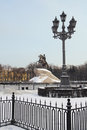 Monuments to Peter the Great in St. Petersburg Stock Images