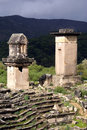 Monuments in Xanthos Royalty Free Stock Photos