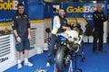 Monza 2012 - BMW Motorrad Italia Goldbet Royalty Free Stock Image