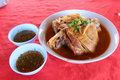 Moo palo bago city yunnan pork recipes for a review to the village of yunnan pai delicious soft Royalty Free Stock Photo