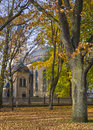 Moody autumn park Royalty Free Stock Photography