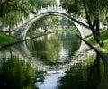 Moon Gate, Beijing, China Royalty Free Stock Image