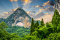 Moon Hill of China Royalty Free Stock Photo