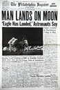 Moon landing Stock Photography