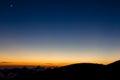 Moon over Hawaii Royalty Free Stock Photo