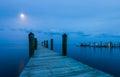 Moonlight at Florida Keys Royalty Free Stock Photo