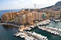 Moorage du Monaco Images stock