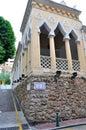 Moorish barracks in macao china Royalty Free Stock Photography