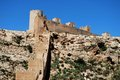 Moorish castle, Almeria, Andalusia, Spain. Stock Photography