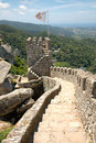 Moorish Castle, Portugal Stock Photos