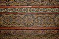 Moorish ceiling, Mosque-Cathedral of Cordoba. Royalty Free Stock Photo