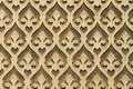 Moorish floral wall decoration spain Royalty Free Stock Photo