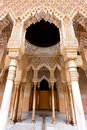 The Moorish Palace of Alhambra in Granada, Spain Royalty Free Stock Image
