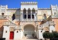 Moorish Palazzo Sticchi in Santa Cesarea Terme, Italy Royalty Free Stock Photo