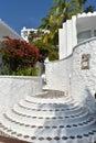 Moorish style stairs Royalty Free Stock Photo