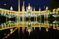 Moorish theater of copenhagen in denmark Royalty Free Stock Images
