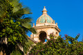 Moorish tower a style cupola and situated in balboa park san diego california Stock Images